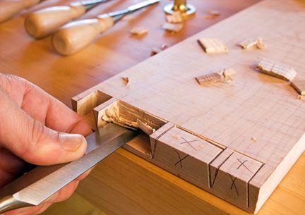 Lie nielsen bevel edge socket chisels tools for Millwork definition