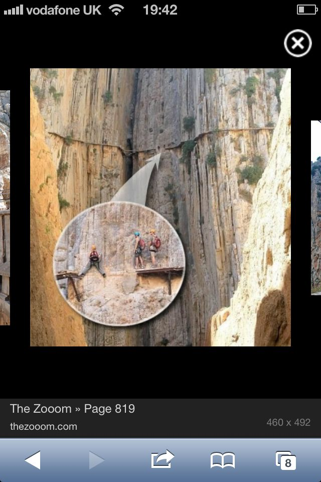 El camino del rey! Something I still want to do.