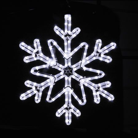 Led rope light snowflake 18 inch 11900 giant holiday stars led rope light snowflake 18 inch 11900 workwithnaturefo