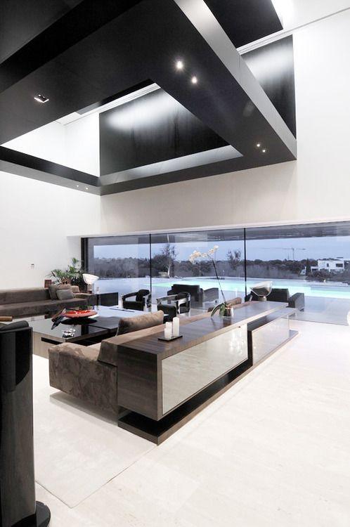Black And White Design Case Moderne Architettura Di Interni