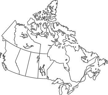 Oh Canada Canada Map Map Coloring Pages