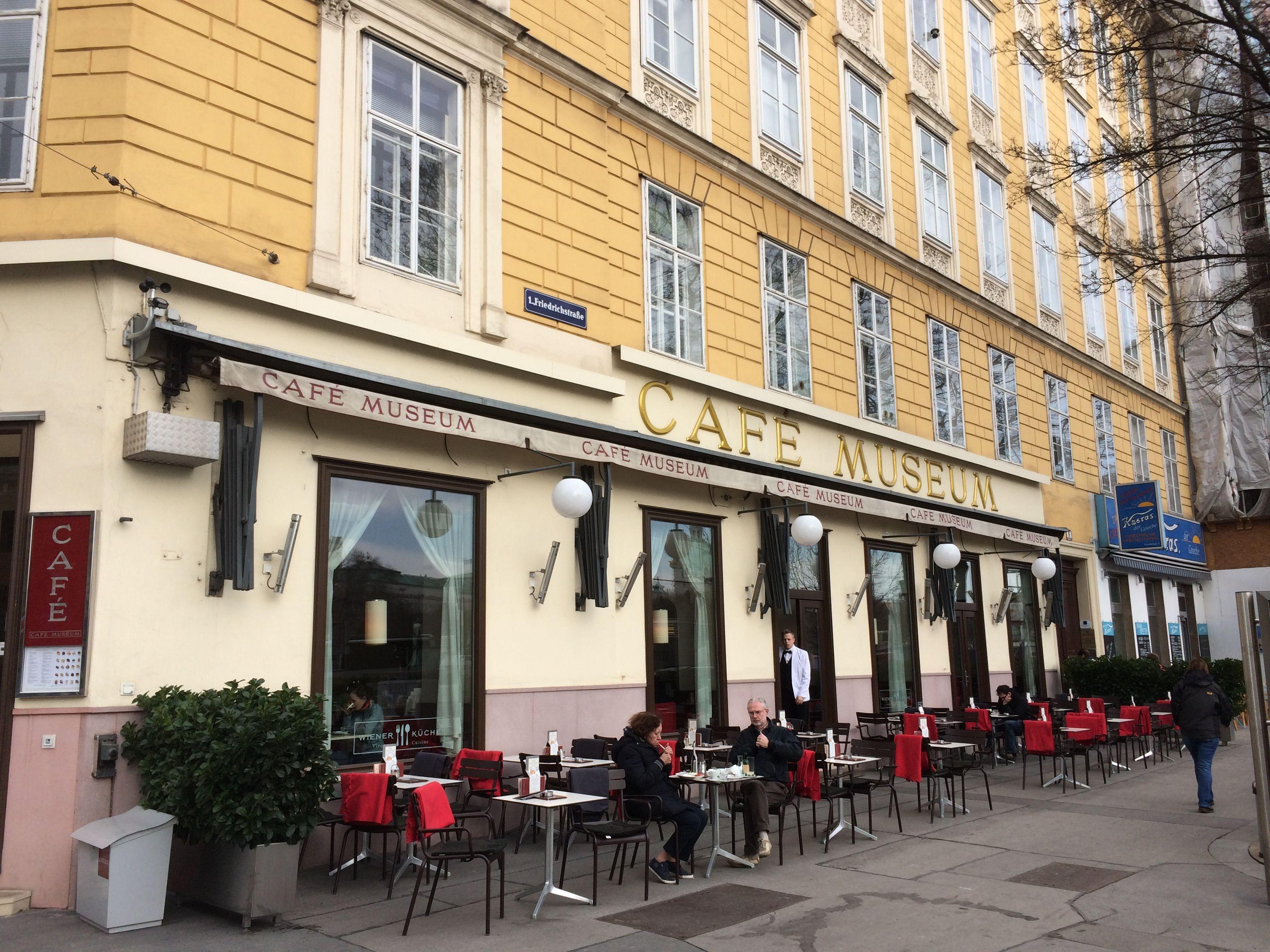 Cafe Museum Wien 1 Bezirk Am Karlsplatz Foto Moka Consorten Street View Views Cafe