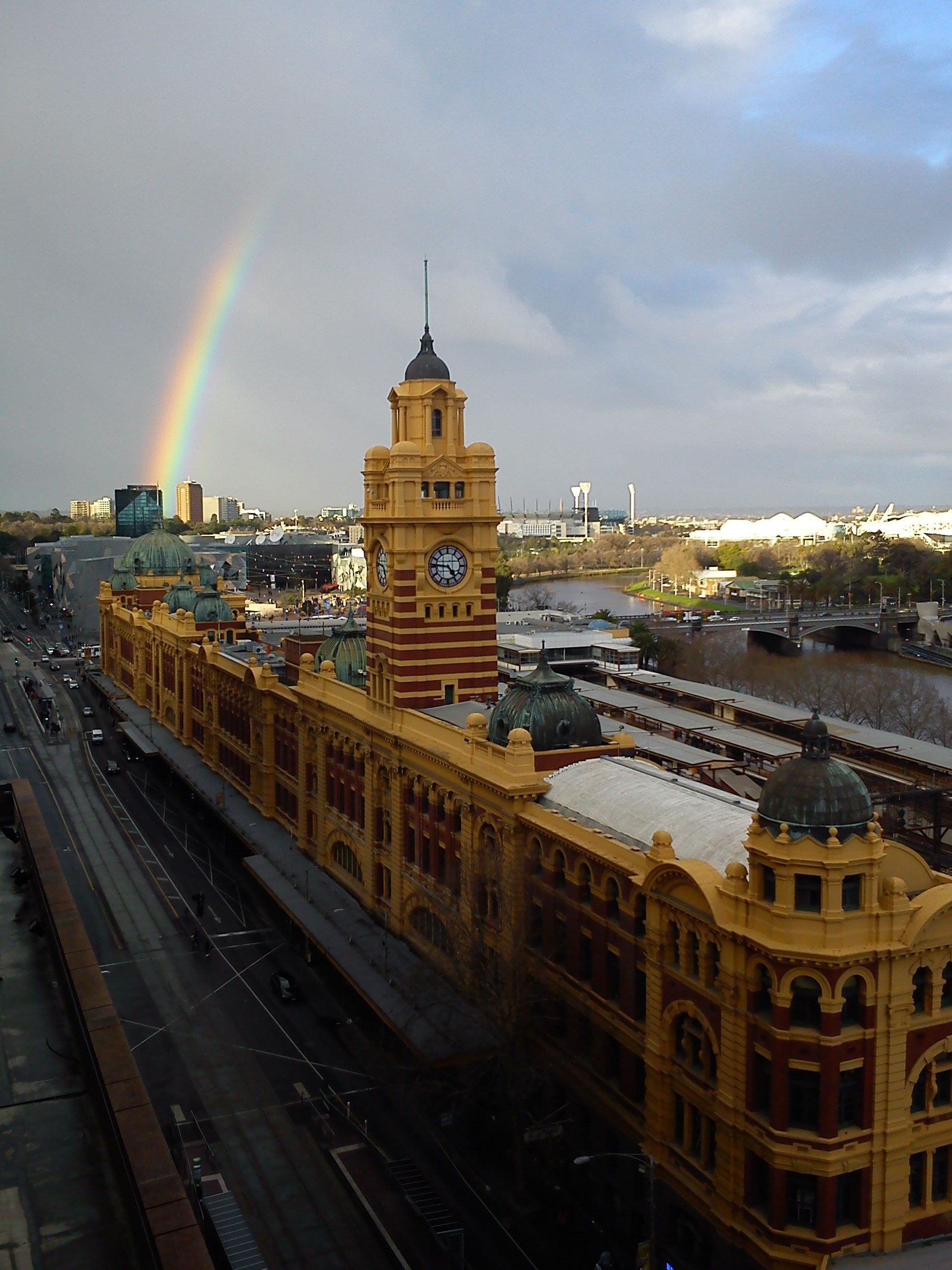 Photo taken from  Grand Hotel Rooftop, during Open House Melbourne Tour, 2012 by Tamara Desiatov.