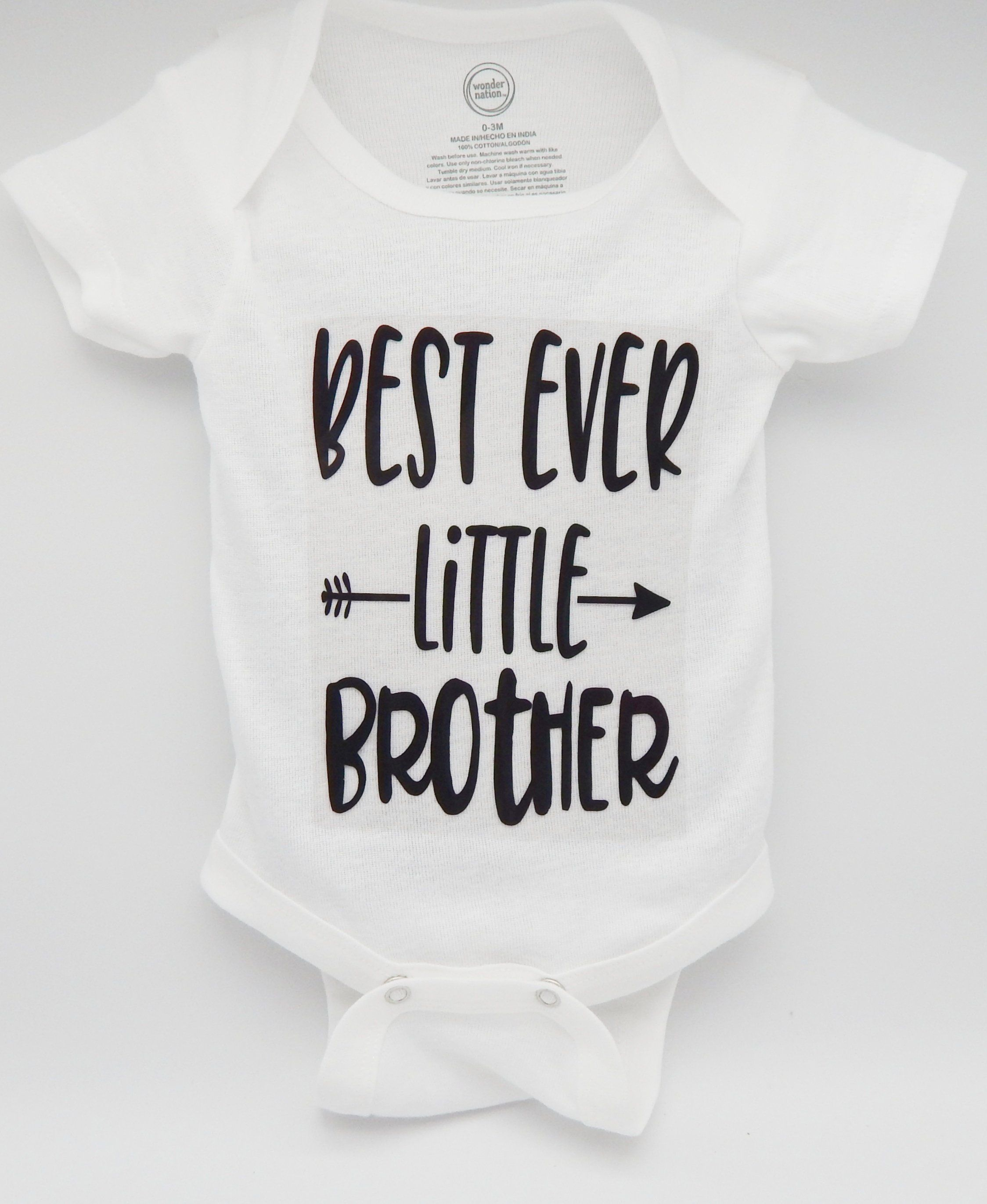 best ever little brother, baby, Baby clothes, baby boy ...