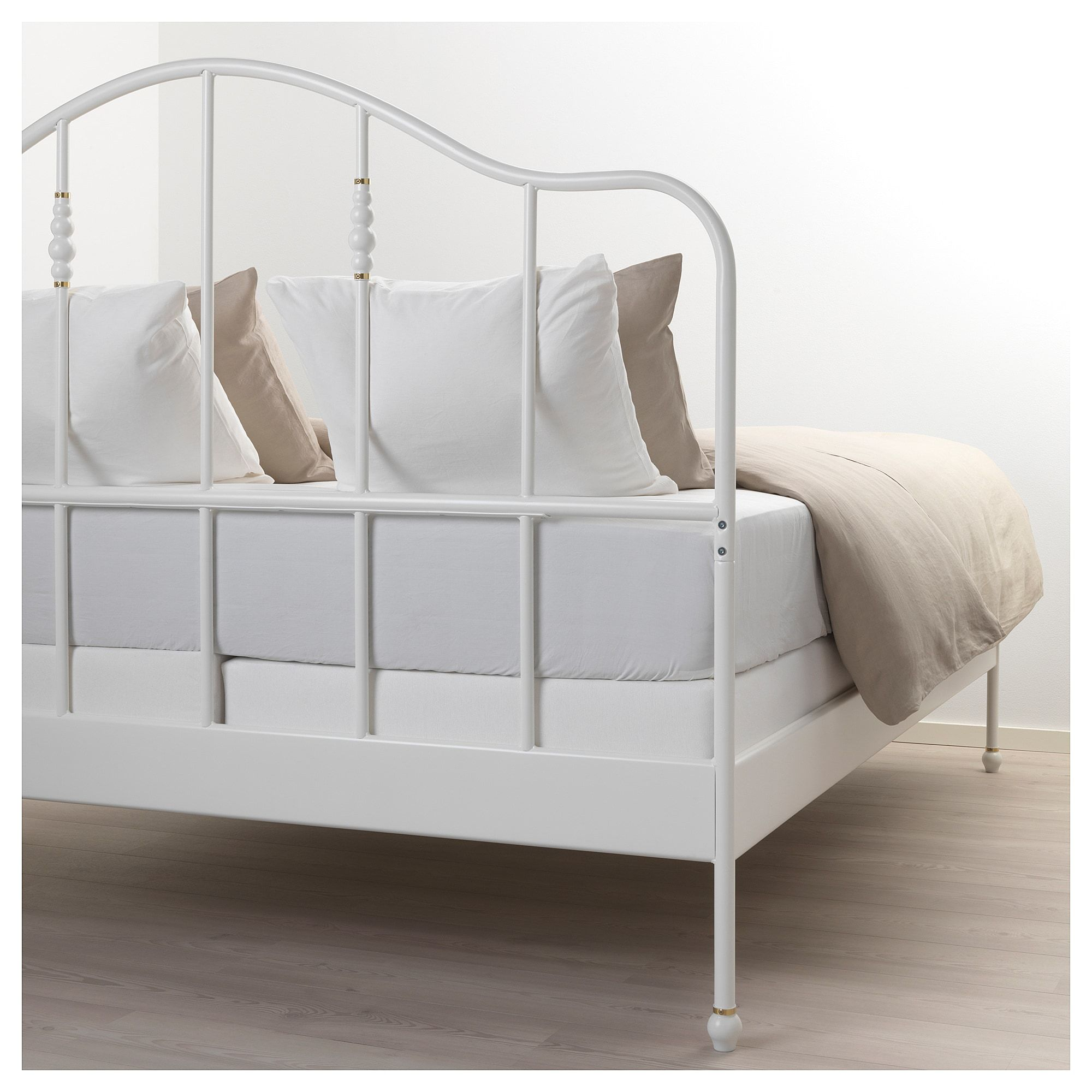 Structure Lit Sagstua Blanc Espevar In 2019 Products Bed
