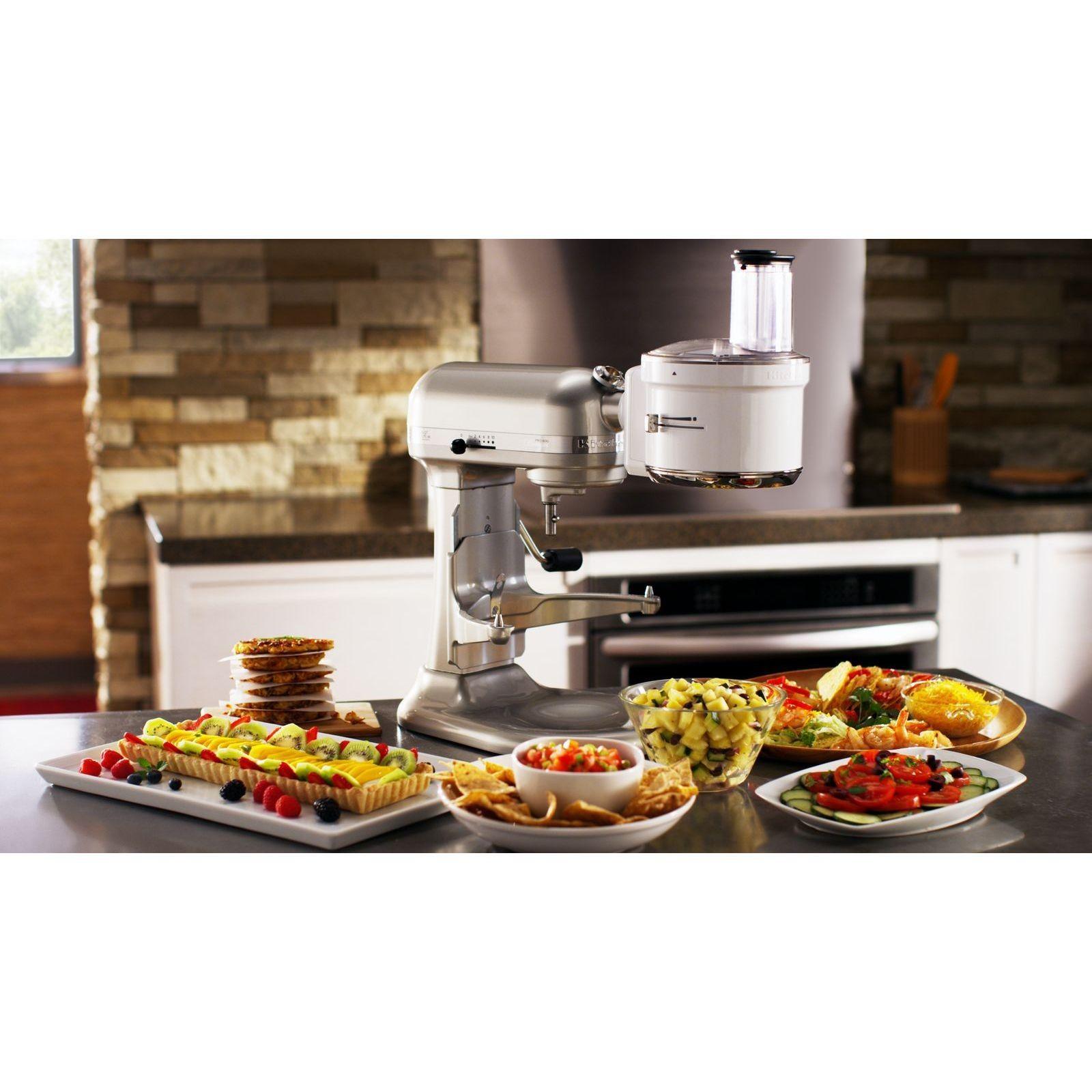 Kitchenaid exactslice food processor attachment fits all
