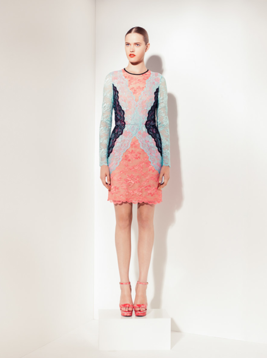 Peter Som. Lace. Color-blocking. Need I say more?  FollowthePlatformYT