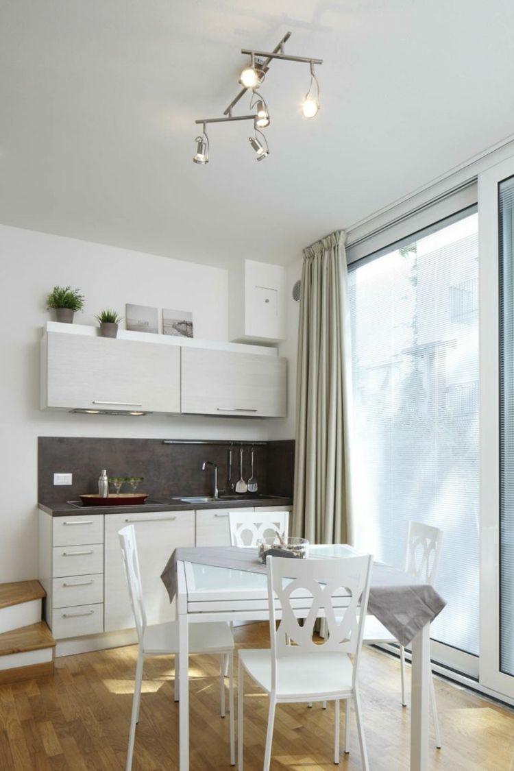 muebles de comidas en la cocina pequeña   Cocinas!   Pinterest ...