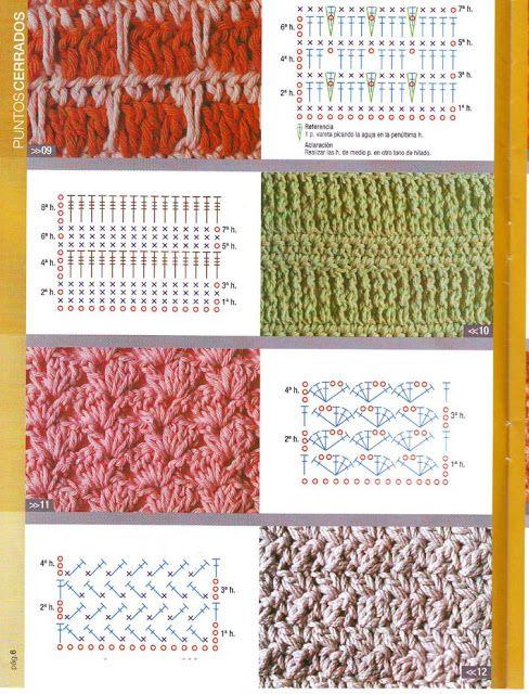 Puntos Cerrados Crochet Patrones De Puntos Puntos Crochet Patrones