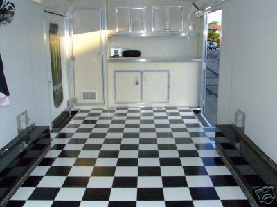 8 Wide Black Amp White Checkered Checker Flooring Floor