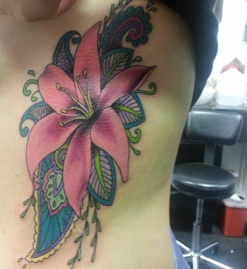 60 Colorful Lily Flower Tattoo Designs Meaning Check More At