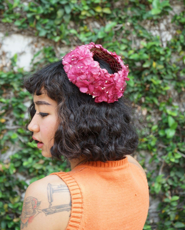 Vintage hat vintage floral head wreath floral garland 1960s yellow vintage hat vintage floral head wreath floral garland 1960s yellow silk floral crown izmirmasajfo