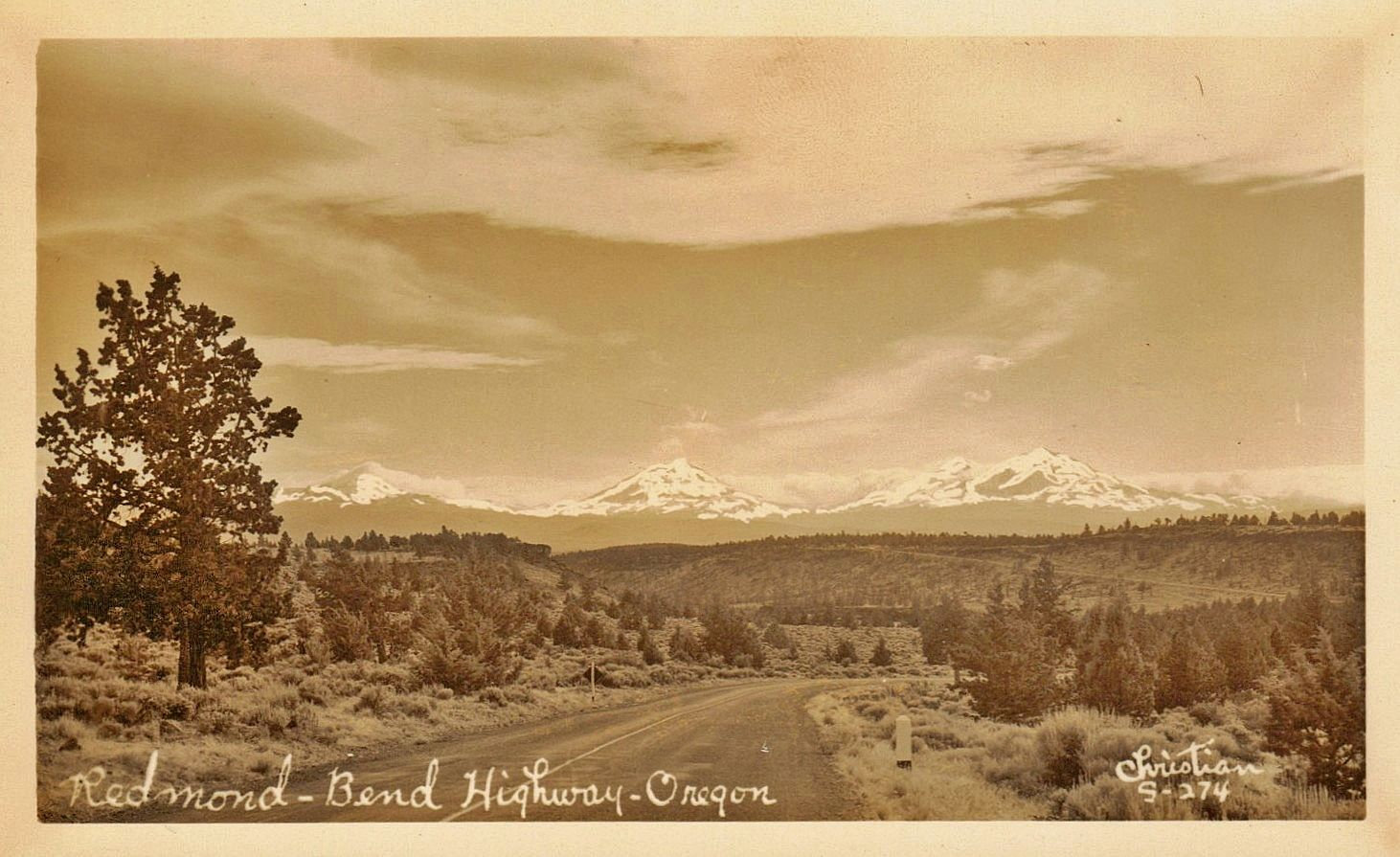The Bend Life... another view of 3 Sisters.  Bend Oregon