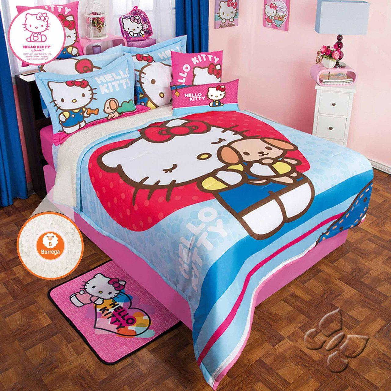 Hello Kitty Softy Comforter Set 189.85209.85 A Bit