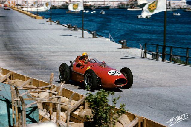 1958 GP Monaco (Luigi Musso) Ferrari Dino 246