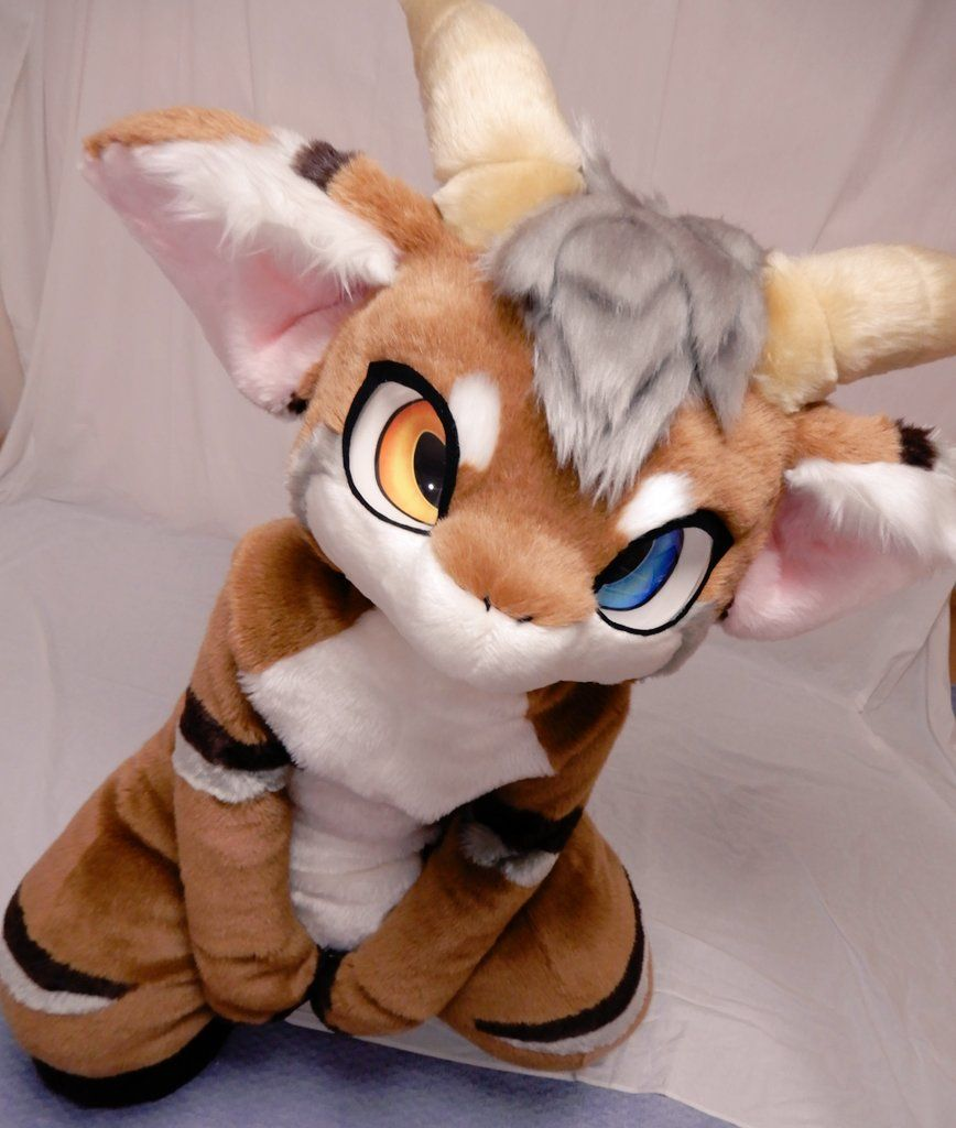 I'm loving this anime goat fursuit! Does anyone know who