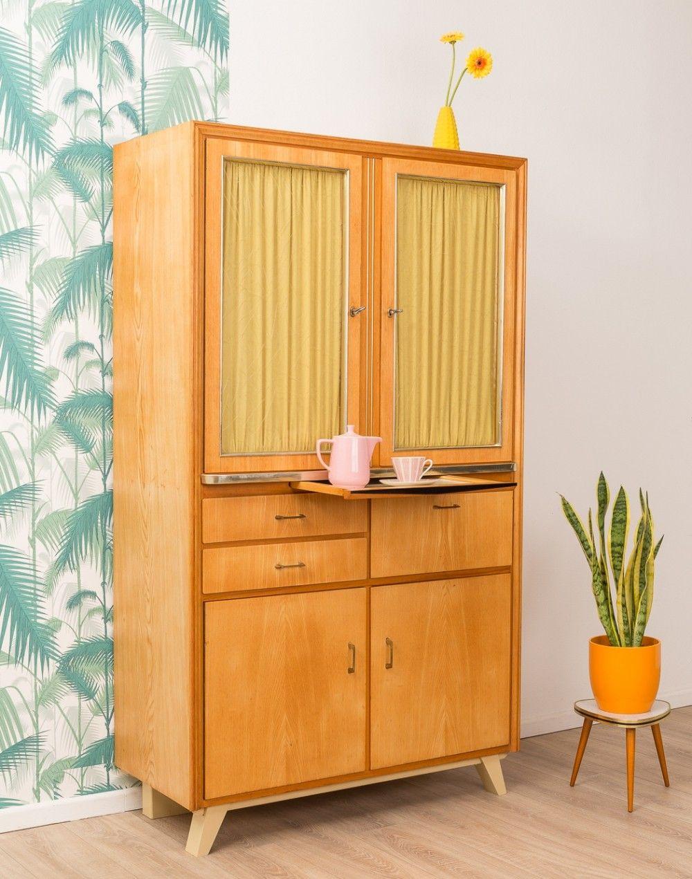 German Kitchen Cabinet From The 1950s Haus Deko Dekor Schrank Dekor
