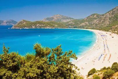 Beautiful Oludeniz Beach Turkey