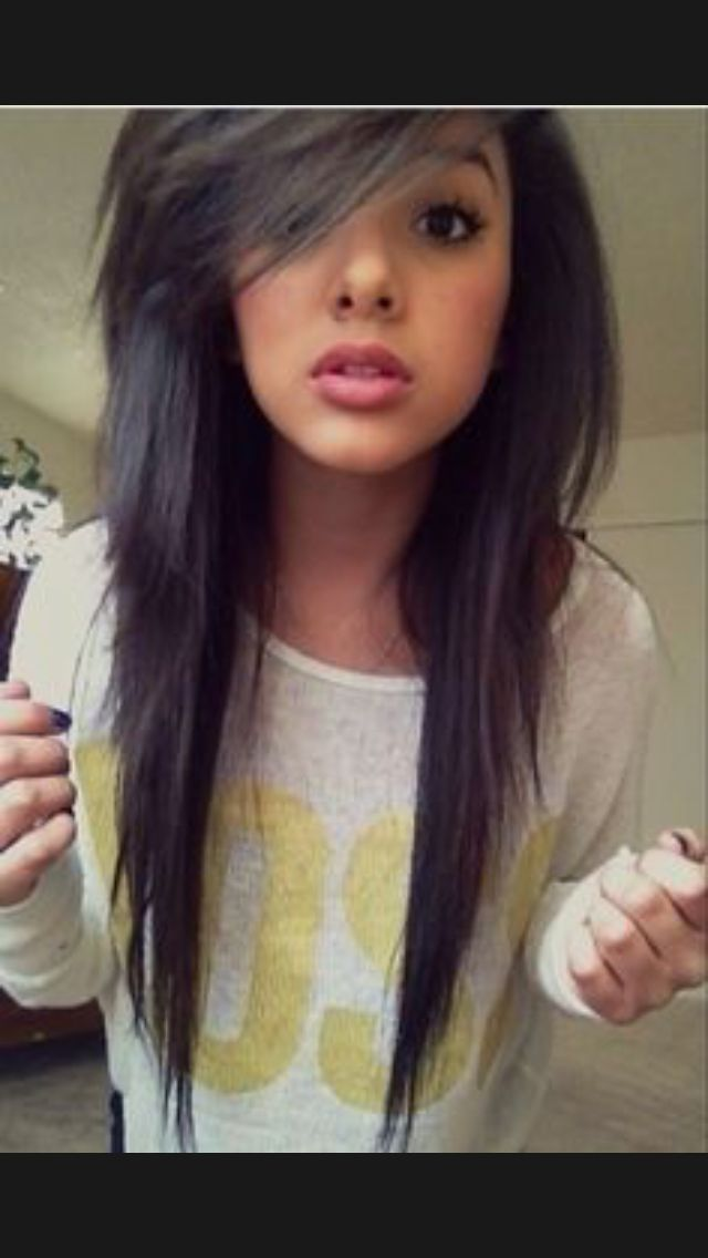 Emo Long Layered Hairstyles Emo Lon hairstyle ideas