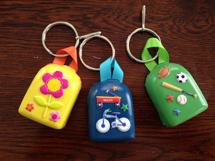 Backpods: Backpack charms made from old Omnipod pumps: $5 00