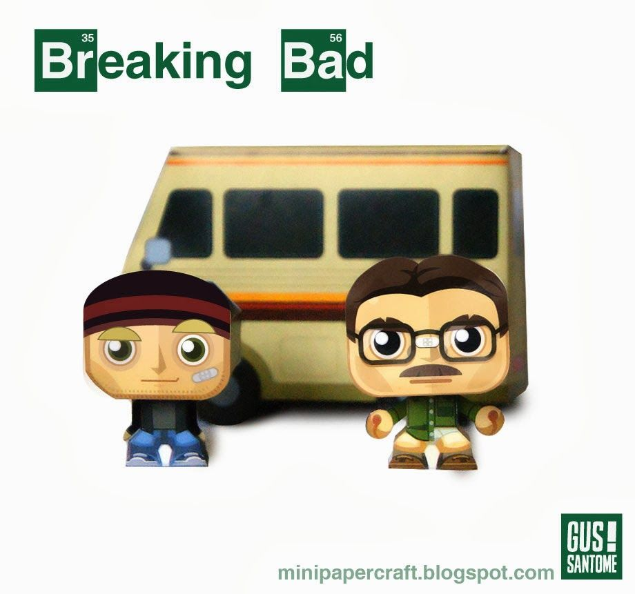 mini papercraft breaking bad papercraft pinterest. Black Bedroom Furniture Sets. Home Design Ideas