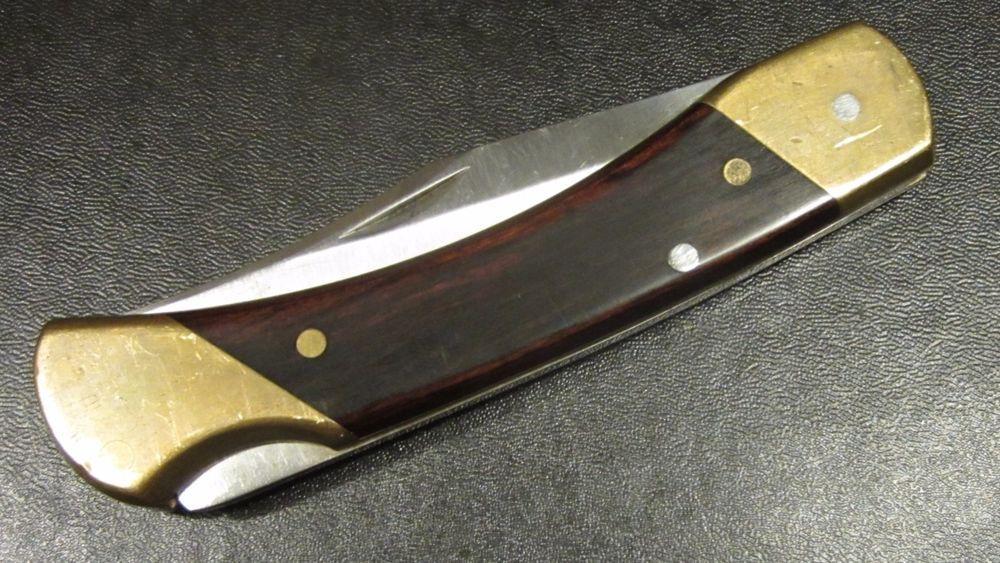 Vintage Schrade Usa Lb7 Knife Lock Back Blade Hunter