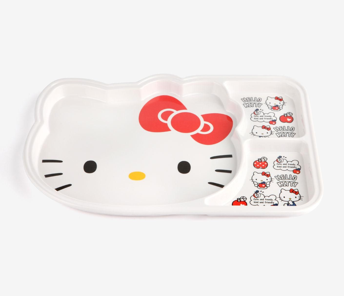Hello Kitty Küchengeräte Cute Hellokitty Divided Plate For Every Meal Hello Kitty