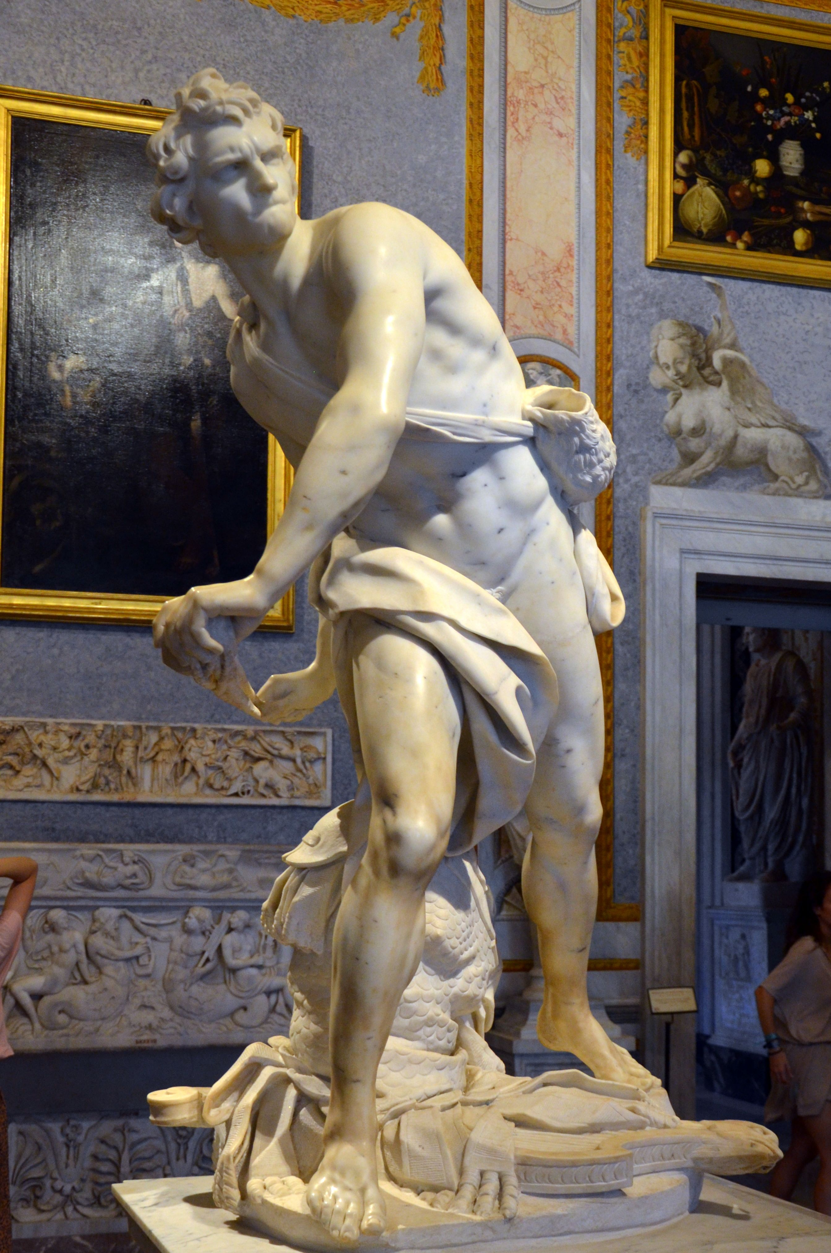 David 1623 1624 par Gian Lorenzo BERNINI dit