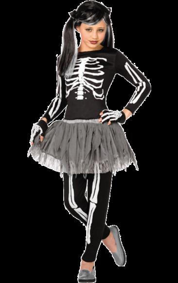 2301b63042331 Kids Gothic Skeleton Halloween Costume | Halloween! | Skeleton ...