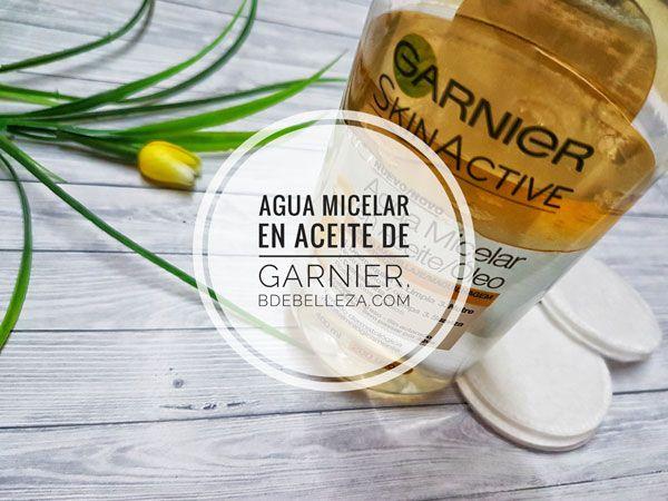 Cuando apareció en el mercado el agua micelar en aceite de Garnier, no me llamó la atención, pero con el tiempo se ha convertido en un producto favorito.