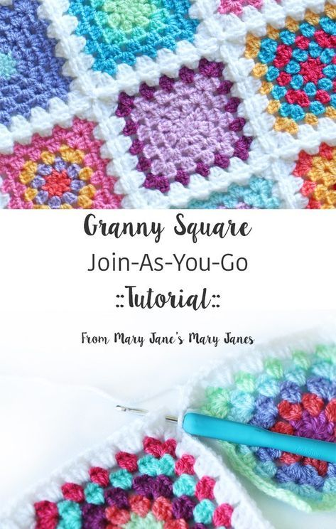 Granny Square Join-As-You-Go ::Tutorial::
