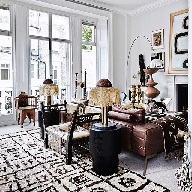 The London home of designer Malene Birger is absolutely packed with - Different Types Of Interior Design
