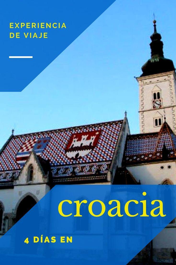 Croacia Como Destino Es Poco Conocido Y Tiene Mucho Que Ofrecer Viajaracroacia Europaportucuenta Primeravezeneuropa Vi Croacia Croacia Viaje Croacia Zagreb