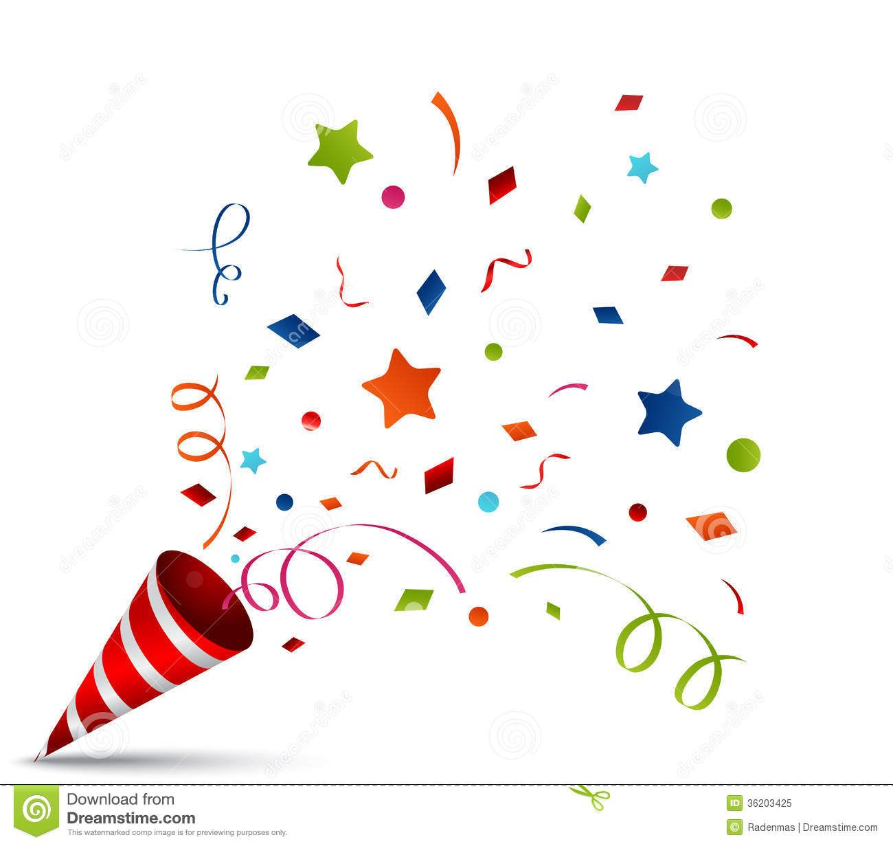 small resolution of party blower confetti stock illustrations 54 party blower