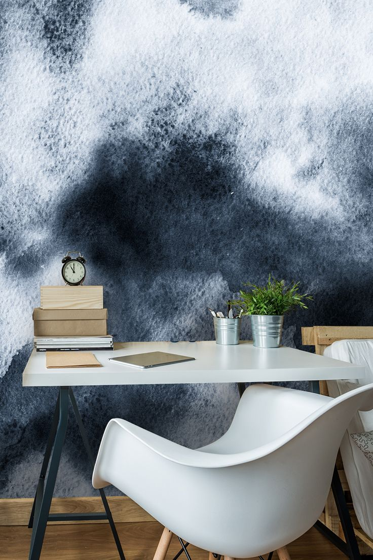 Watercolor Black And White In 2018 Walls Pinterest Wallpaper