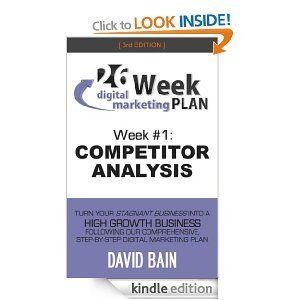 Competitor Analysis Week  Of The Week Digital Marketing Plan