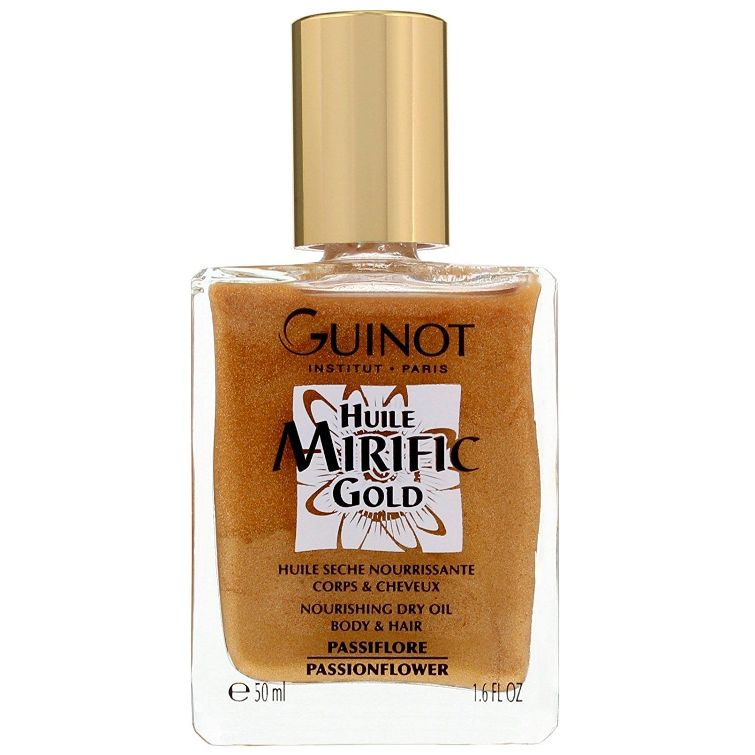 Guinot Huile Mirific Gold - Nourishing Dry Oil Body and Hair 50ml/1.6oz ** Want to know more, click on the image.