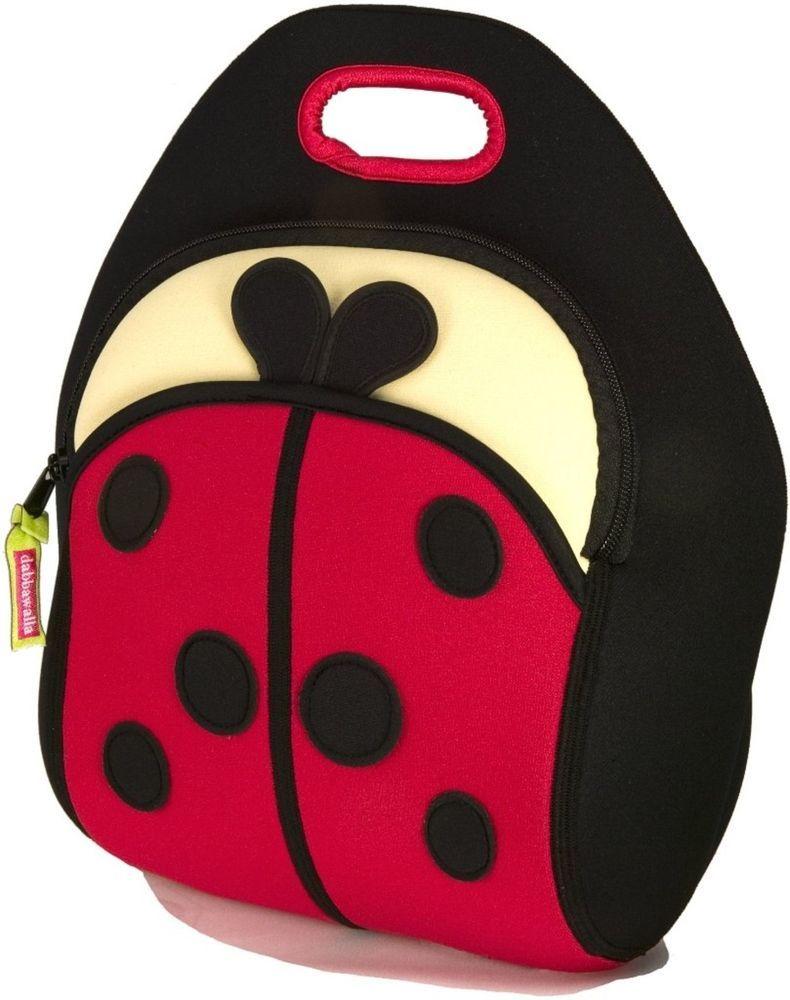 fc7aa60ae47e Dabbawalla Bags Cute As A Bug Ladybug Kids Lunch Bag
