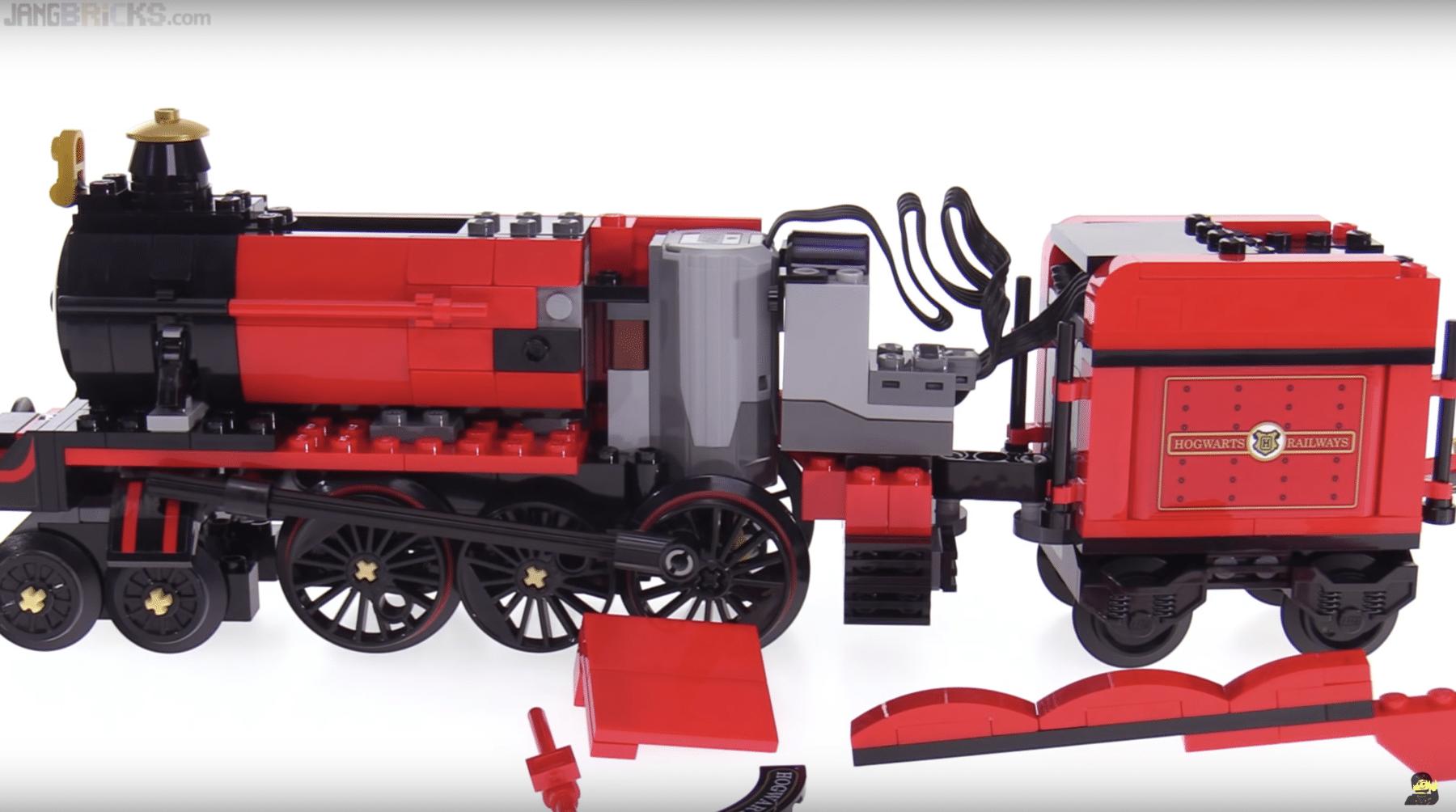 Lego 75955 Hogwarts Express Motorisieren Jangbricks Zeigt Losungen Lego Eisenbahn Lego Lego Zug
