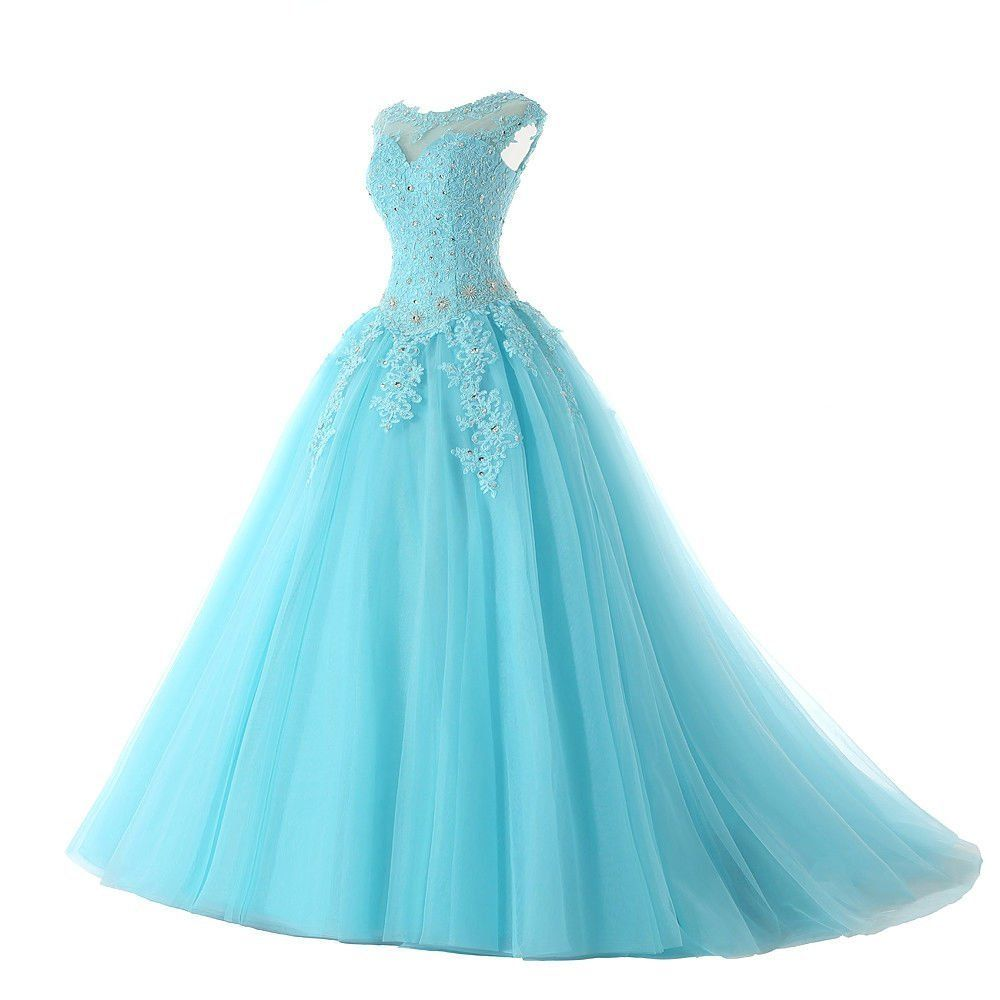 Xingmeng long prom quinceanera dresses appliques formal ball gowns