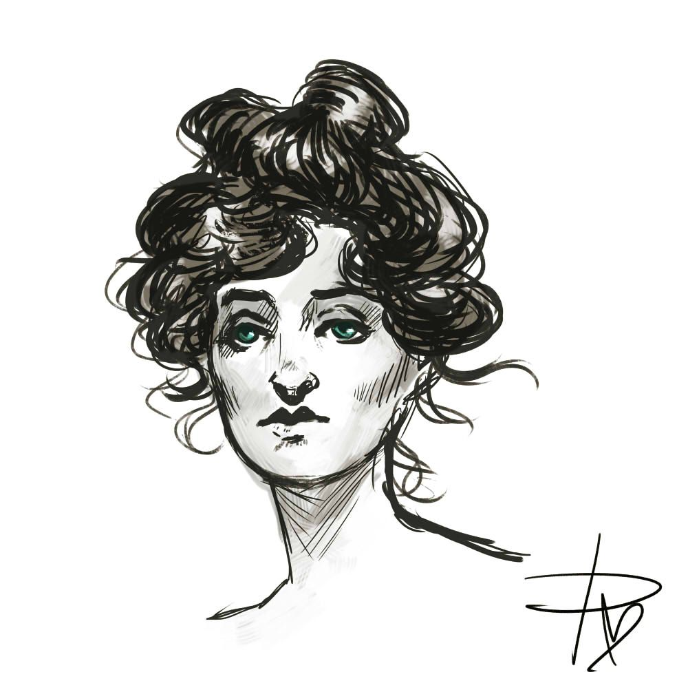 Victorian!Femlock by practicefortheheart.