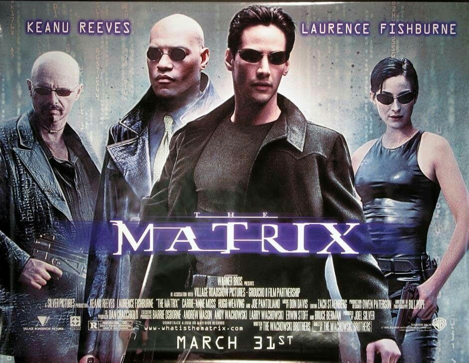 The Matrix Quad Movie Poster Movie Posters The Matrix Movie