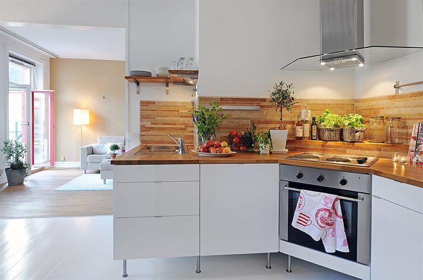 Cocina en esquina kitchen cocina pinterest deco y - Cocinas en esquina ...