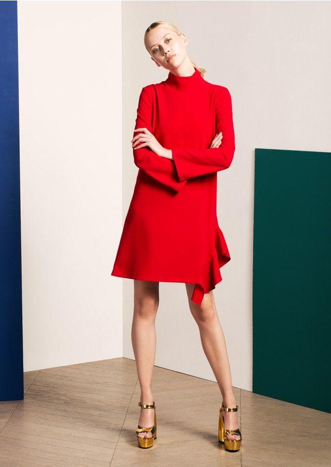 Robe bustier rouge tara jarmon