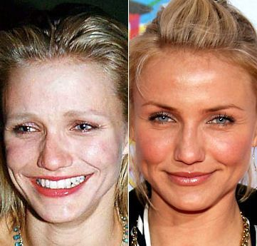 Celebrities Without Makeup Look Very Bad Funny Things Celebs Without Makeup Permanent Makeup Eyebrows Without Makeup