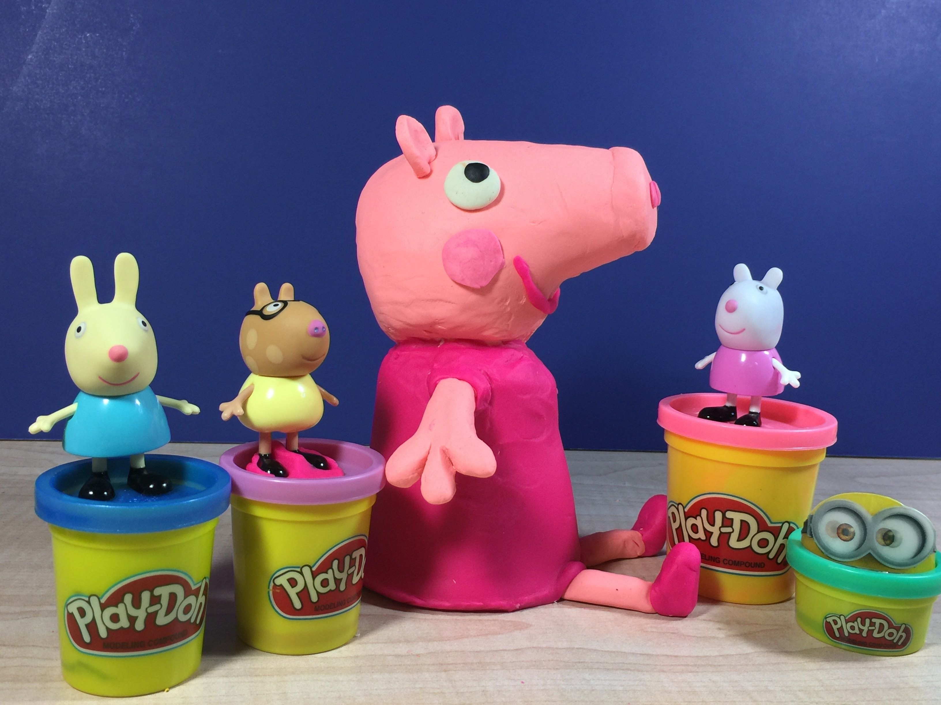 Peppa Pig Short Video Made With Play Doh Plus Disney And Minions Blind Surprise Bags Play Doh Plus Peppa Pig Play Doh [ 2448 x 3264 Pixel ]