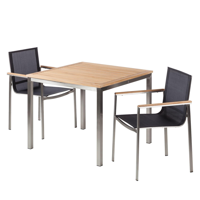 salon de jardin teck prix discount | table de jardin aluminium et ...