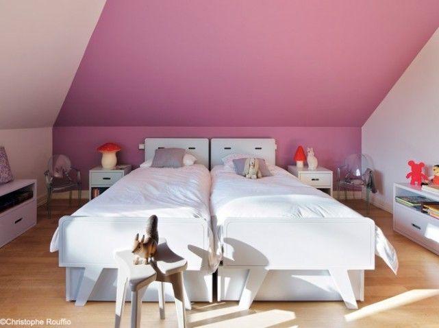 Chambrefille double rose | idées chambre enfant | Pinterest ...