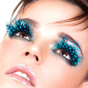 7c03794936b Discovering Design: EYE LASH FEVER HALLOWEEN | feather eye makeup ...