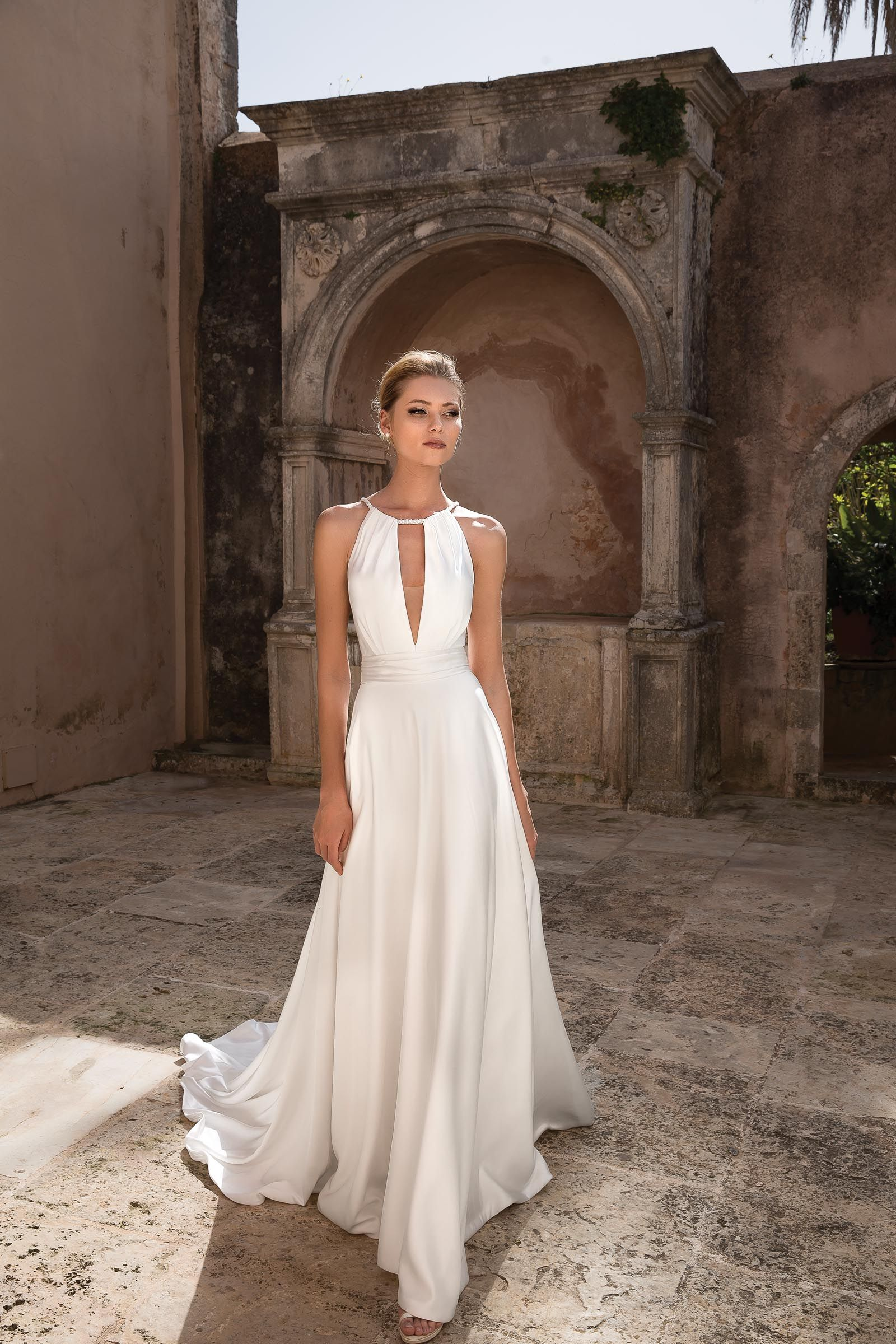Hochzeitskleid Neckholder – Valentins Day  Hochzeitskleid